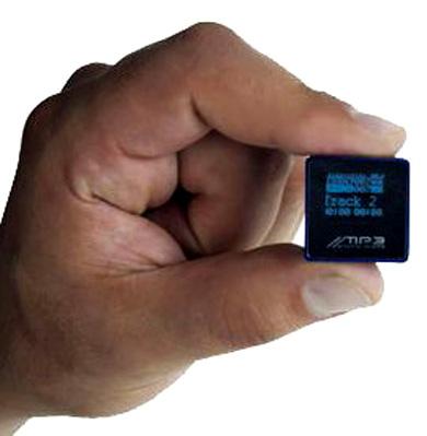 Самы маленький в мире mp3-плеер