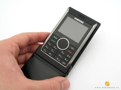 Samsung P310 - Футляр в  открытом положении