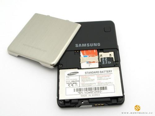 Samsung P310 - Аккумуляторный отсек