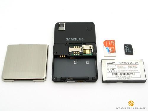 Samsung P310 - аккумуляторный отсек 2