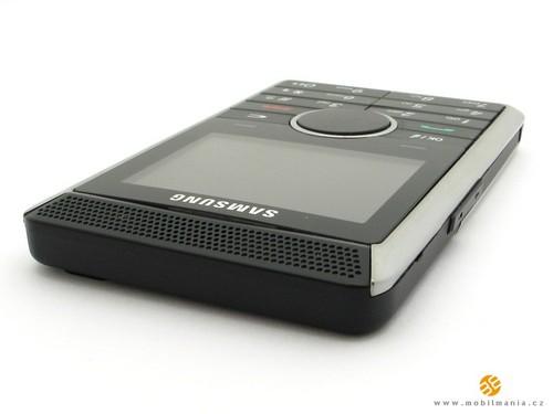 Samsung P310 - верхняя сторона