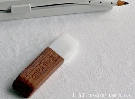 USB-накопитель в виде ластика от Outofstock