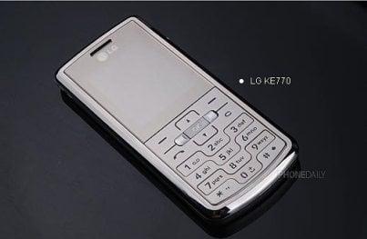 LG Shine KE770