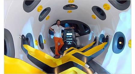 Astrium Space Jet