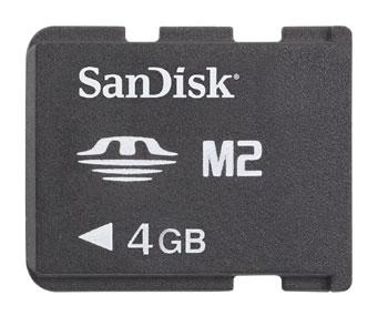SanDisk MS Micro 4 Гигабайта
