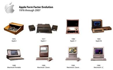 Apple Form Factor Evolution