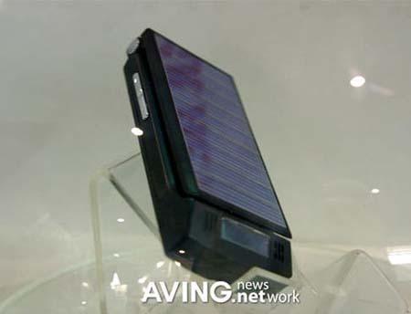 Телефон на солнечных батареях