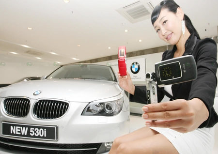Samsung SCH-B750 BMW 5 серии