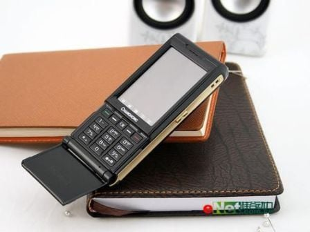 Стильный китайский телефон с флипом - фото 2