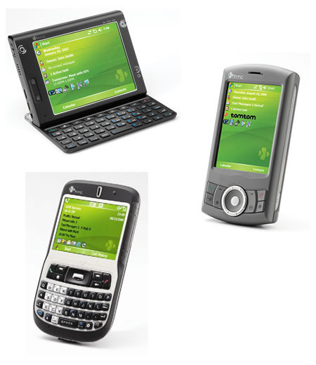 HTC P3300, S620 и Advantage