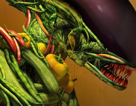 Чужой из овощей