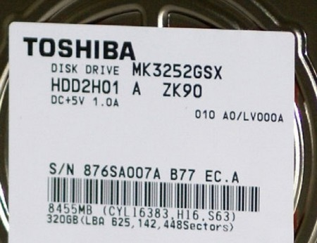 Toshiba MK-52GSX