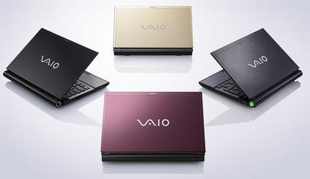 Sony VAIO SZ6 и TZ20