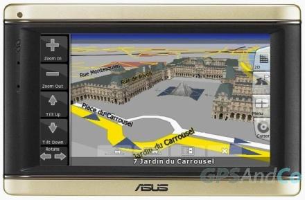 Навигационное устройство Asus R700