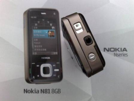 Nokia N81 - фото 7