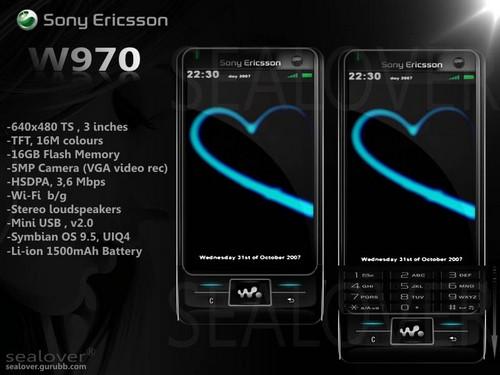 Sony Ericsson W970