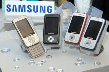 Samsung Symbian-based i458 handsets