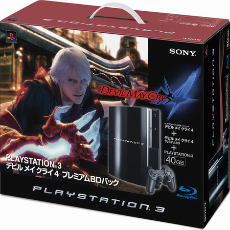 Sony PlayStation 3 Devil May Cry 4 black
