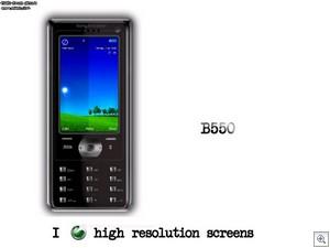 Sony Ericsson B550