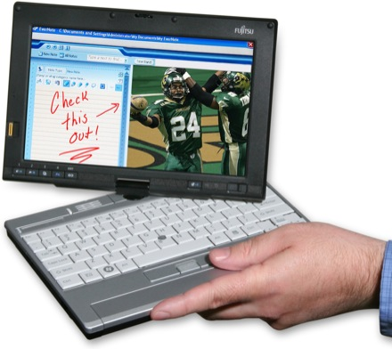 Fujitsu LifeBook P1620 1