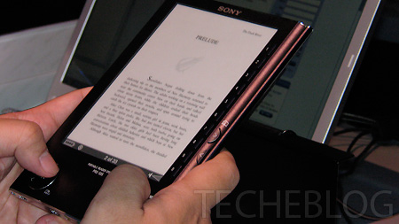 Sony Reader Digital Book PRS-505