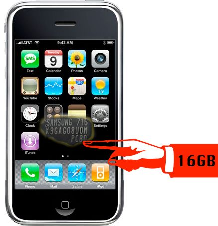 16 GB  iPhone