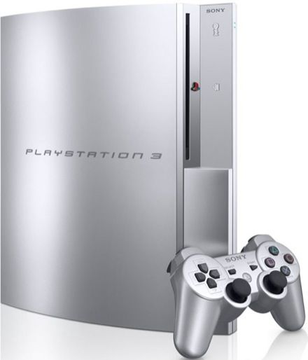 Satin Silver PS3