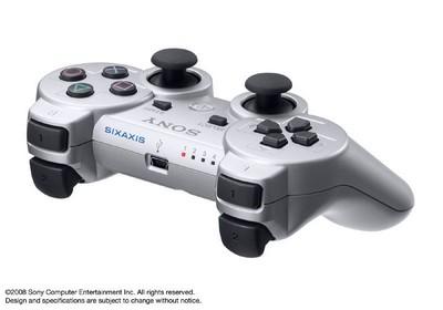 Satin Silver PS3 4