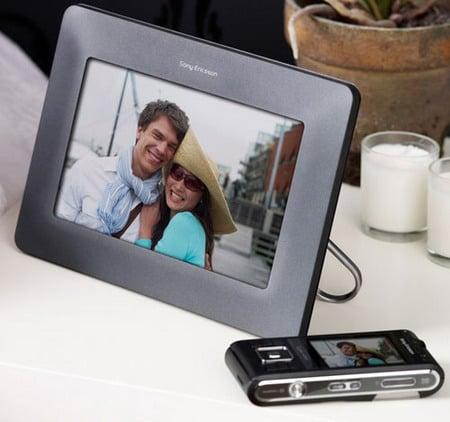 Sony Ericsson представляет свою первую цифровую фоторамку