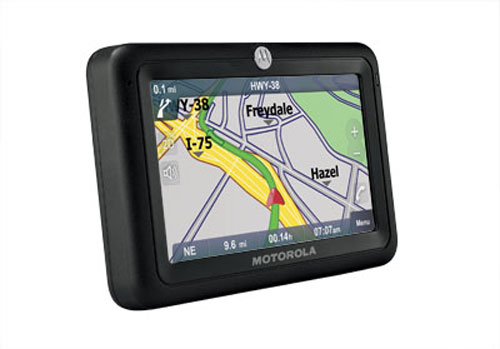 Motorola  выпускает два GPS устройства MotoNav
