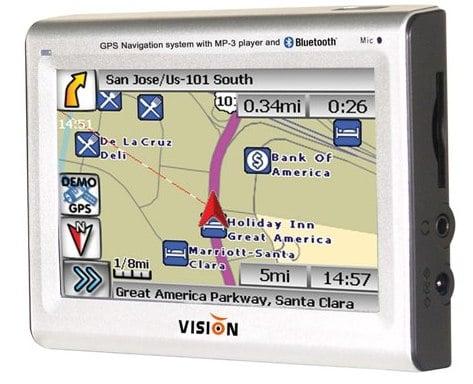 Vision Tech America представила новое GPS-устройство для Северной Америки