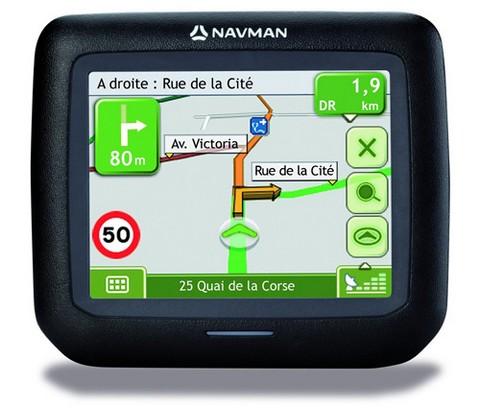 Автомобильная GPS Navman F15 поступила в продажу в США