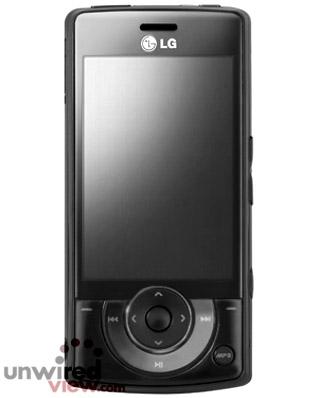 KM900  - новый музыкальный телефон от LG