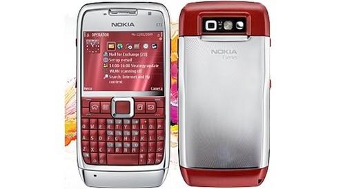 Nokia-e71-red