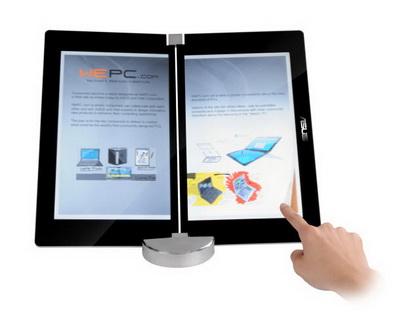 CeBIT '09: ASUS продемонстрировала ноутбук будущего