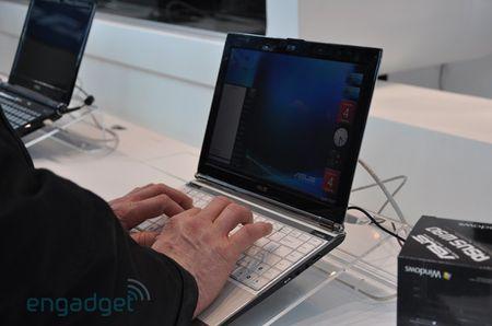 Asus представляет ультратонкие ноутбуки