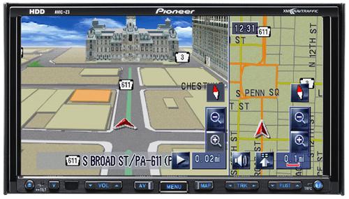 Pioneer AVIC-Z3 — 2-DIN  навигатор для автомобиля