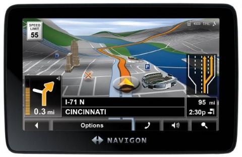 Navigon выпускает портативные GPS — 7300T, 4300Tmax , 3300 max