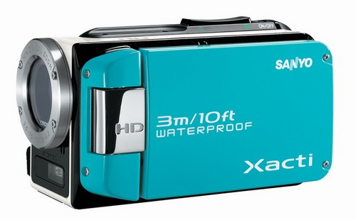 Sanyo_water_proof_camcorder_vpc-wh1bl