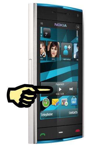 nokia-x6-finger