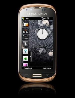 Новый смартфон из семейства Armani от Samsung