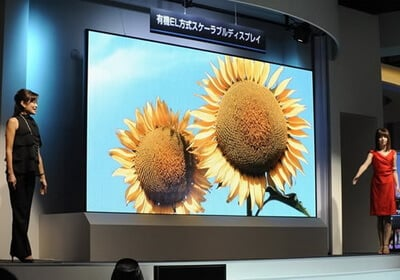 155-inch-oled-display-mitsubishi