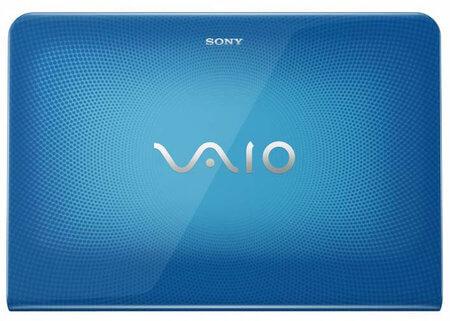 Sony Vaio E blue