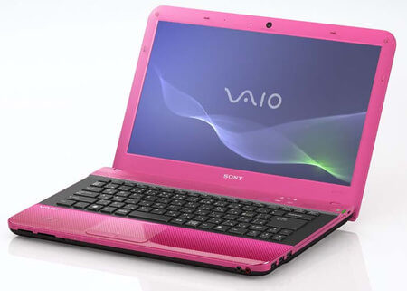 Sony Vaio E pink
