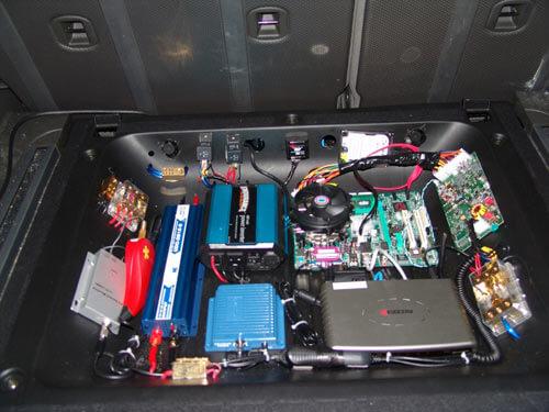 Комп в машину