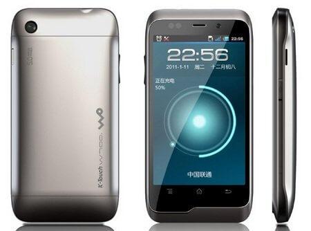 Анонсирован китайский смартфон K-Touch W700