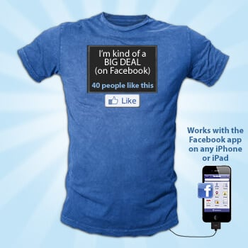facebook-status-display-tshirt
