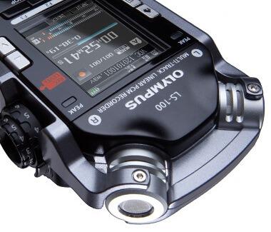 Olympus-LS-100-Linear-PCM-Recorder-mic