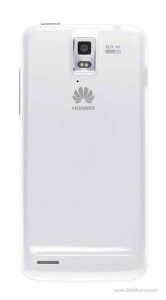 Huawei Ascend D -  задняя панель