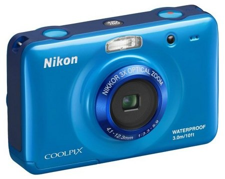 Nikon-CoolPix-S30-Rugged-Digital-Camera-blue